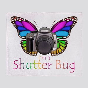 Shutter Bug Throw Blanket