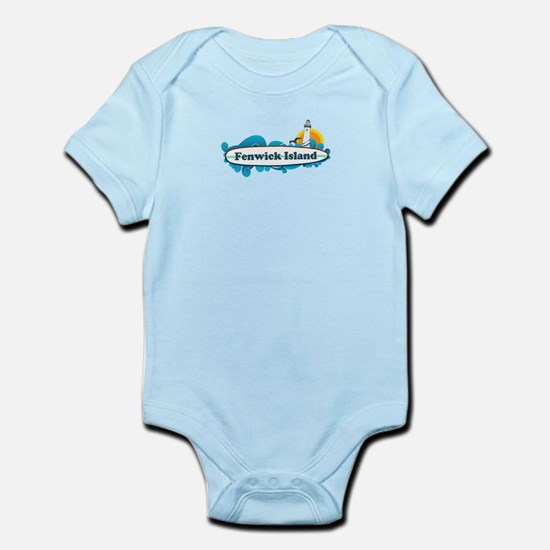 Fenwick Island DE - Surf Design Infant Bodysuit