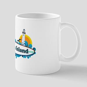 Fenwick Island DE - Surf Design Mug