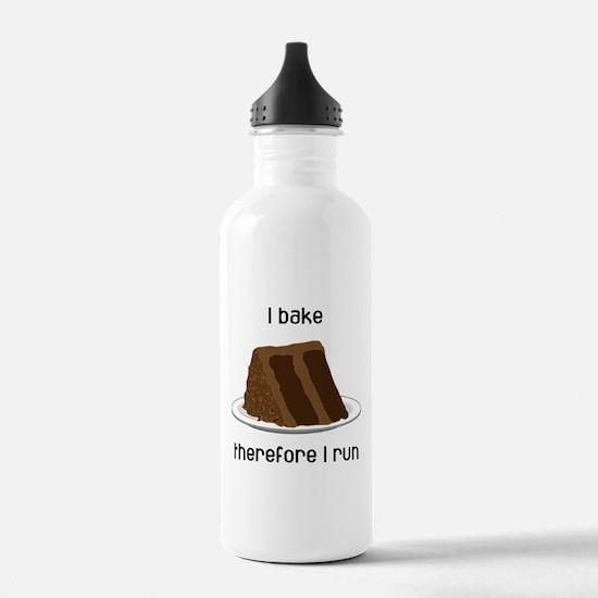 Chocolate Cake Water Bottle