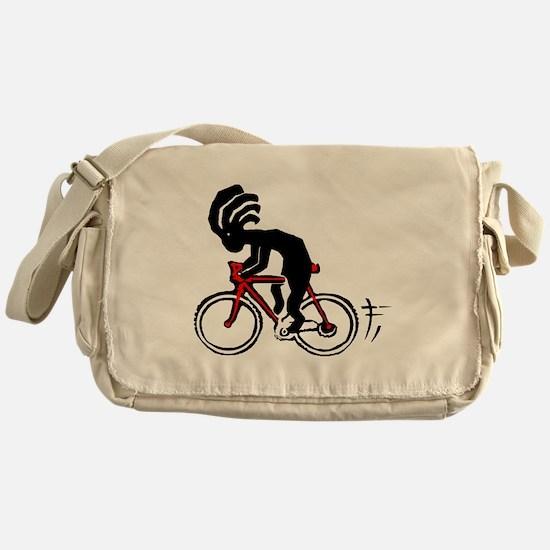 Kokopelli Bicycle Messenger Bag