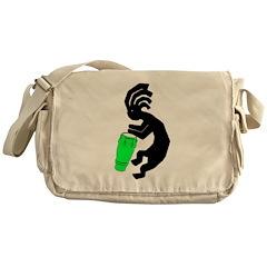 Kokopelli Drummer Messenger Bag