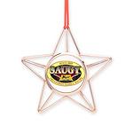 SAUGYLOGO Copper Star Ornament