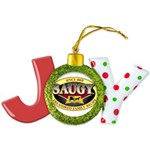 SAUGYLOGO Joy Ornament