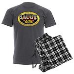 SAUGYLOGO Men's Charcoal Pajamas