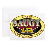 SAUGYLOGO Notecards (Set of 10)