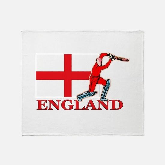 English Cricket Player Throw Blanket