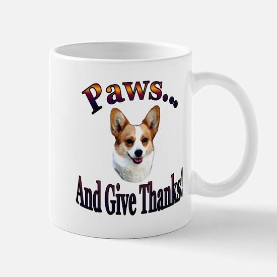 Paws and Give Thanks-Dott Mug