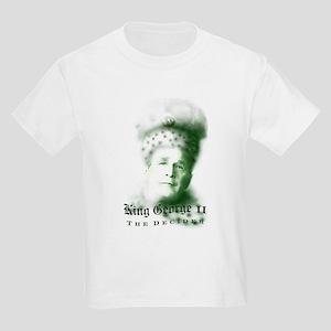 King George II The Decider Kids T-Shirt