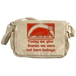 Thanksgiving Humor Blessing Messenger Bag