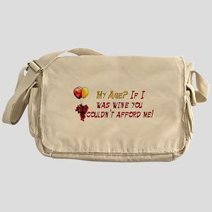 Fine Wine Messenger Bag
