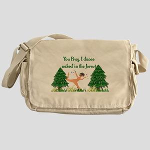 Naked Pagan Messenger Bag