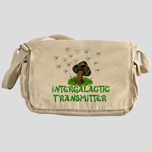 Alien Shrooms Messenger Bag
