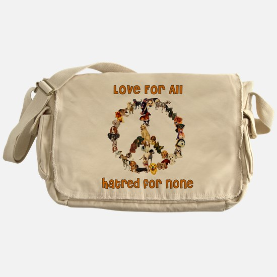 Dogs Of Peace Messenger Bag
