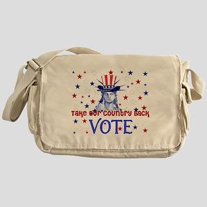 Vote Election 2008 Messenger Bag
