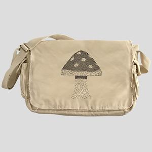 Kaleidoscope Mushrooms Messenger Bag
