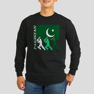 Cricket Pakistan Long Sleeve Dark T-Shirt