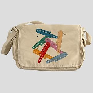 Colorful Contrabassoons - Messenger Bag