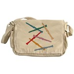 Colorful Clarinets Messenger Bag