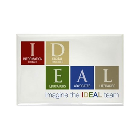 The IDEAL Team Rectangle Magnet (100 pack)