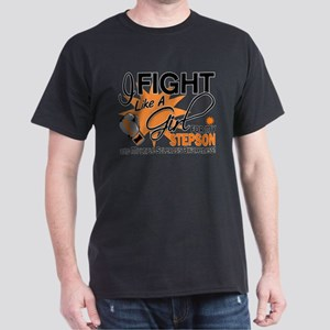 Fight Like A Girl For My MS Dark T-Shirt