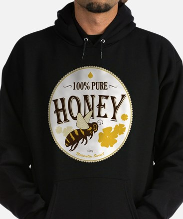 honey label Hoodie (dark)