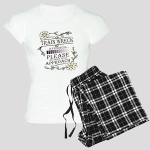 Train Wreck Women's Light Pajamas