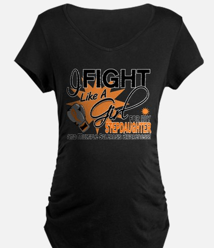 Fight Like A Girl For My MS T-Shirt