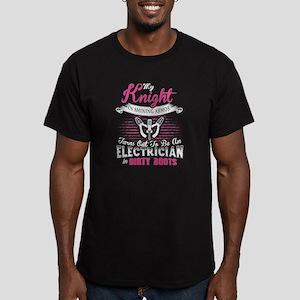 My Knight T Shirt, Electrician T Shirt T-Shirt