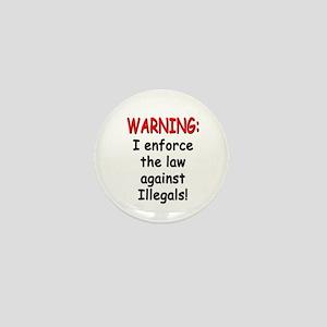 Law Enforcer Mini Button