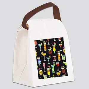 It's 5 O'Clock Somewhere Cocktail Canvas Lunch Bag