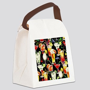 Cocktail Hour in the Tropics Canvas Lunch Bag