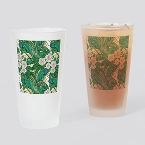 Chameleons and Camellias Drinking Glass