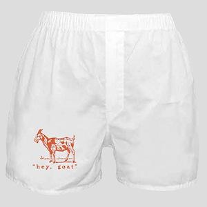 Hey, Goat Boxer Shorts