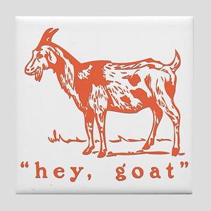 Hey, Goat Tile Coaster