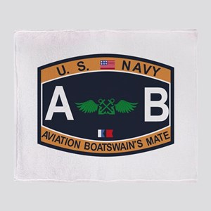 Air Carrier Wing Throw Blanket