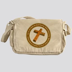 CHRISTIAN FATHER Messenger Bag