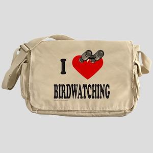 I HEART BIRDWATCHING Messenger Bag