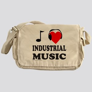 INDUSTRIAL MUSIC Messenger Bag