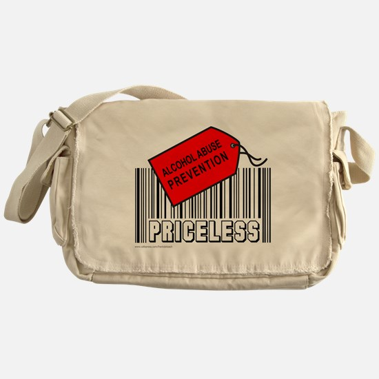 ALCOHOL ABUSE PREVENTION Messenger Bag