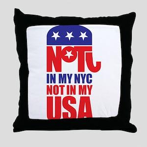 Anti Republican Throw Pillow
