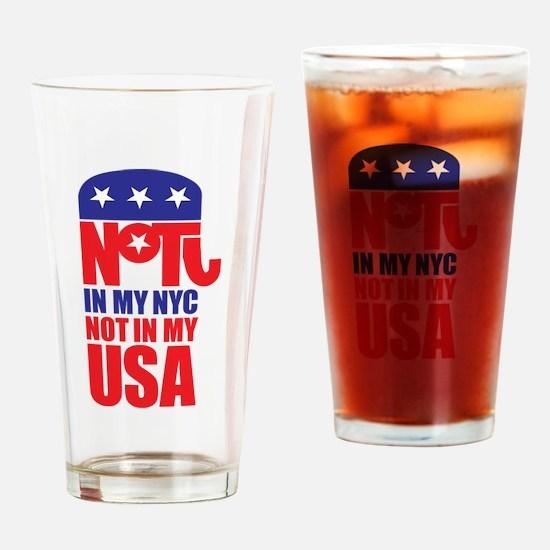 Anti Republican Drinking Glass