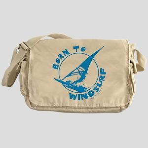 BORN TO WINDSURF Messenger Bag