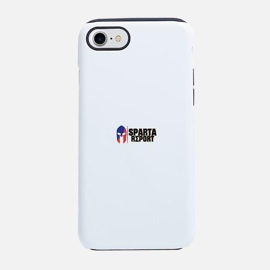 Sparta Report Logo iPhone 7 Tough Case