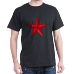 5 Pointed Star Pentagram Dark T-Shirt