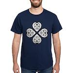 Knotwork Clover Dark T-Shirt