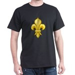 Fleur-de-lis Symbol Dark T-Shirt