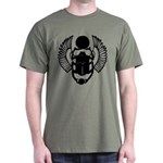 Egyptian Scarab Symbol Dark T-Shirt