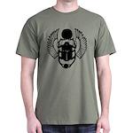 Egyptian Scarab Symbol Dark T-Shirt