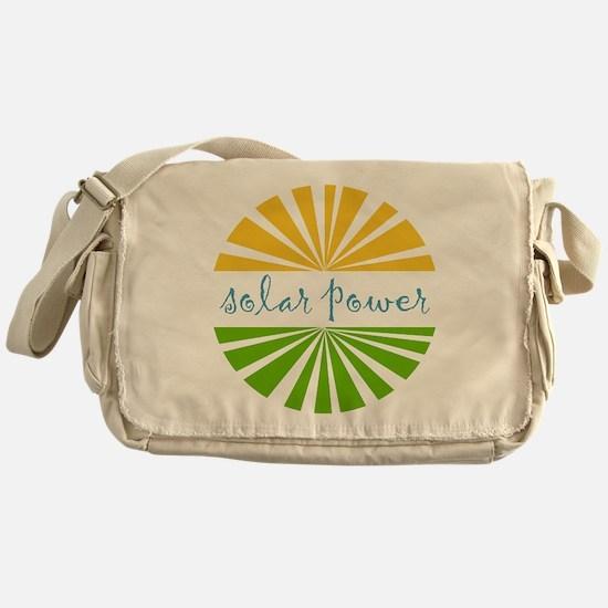 Solar Power Messenger Bag